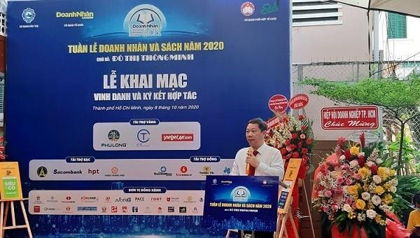 """TP HCM: Khai mạc """"Tuần lễ Doanh nhân và sách 2020"""" tại đường sách Nguyễn Văn Bình"""