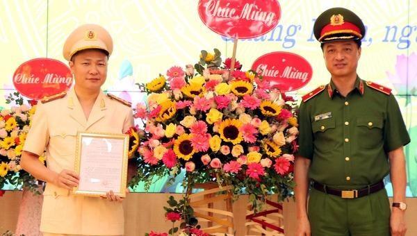 Phó Chánh Văn phòng Cơ quan CSĐT- Bộ Công an được bổ nhiệm làm Giám đốc Công an tỉnh Quảng Ninh
