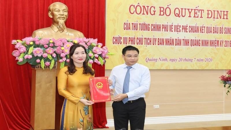 Thủ tướng phê chuẩn kết quả bầu Phó Chủ tịch UBND tỉnh Quảng Ninh