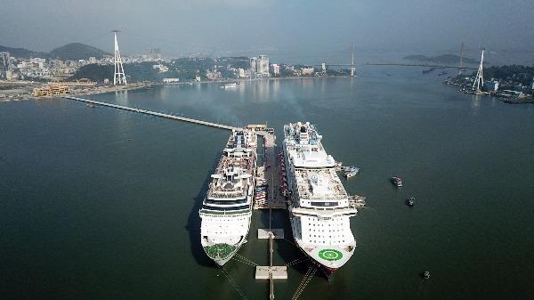 Cảng tàu khách quốc tế Hạ Long, Quảng Ninh.