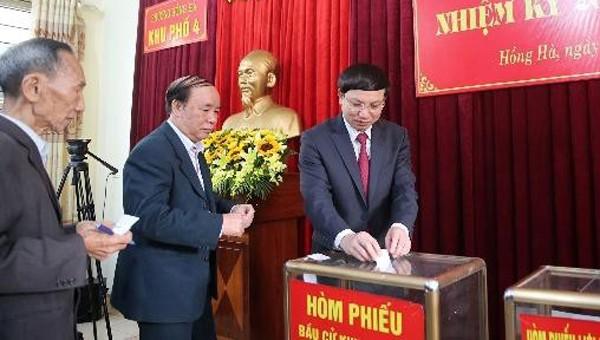 Quảng Ninh đồng loạt tổ chức bầu trưởng thôn