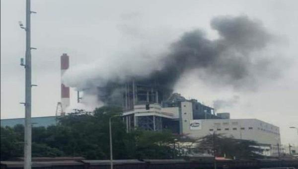 Nổ lớn tại nhà máy Nhiệt điện Uông Bí