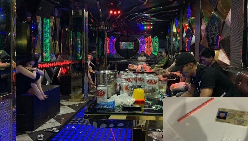 Bắt quả tang 15 đối tượng nam nữ sử dụng ma túy trong quán karaoke ở Quảng Ninh
