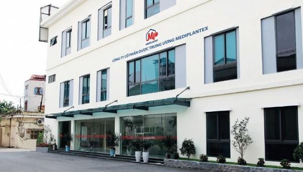 Công ty cổ phần dược Trung ương Mediplantex.