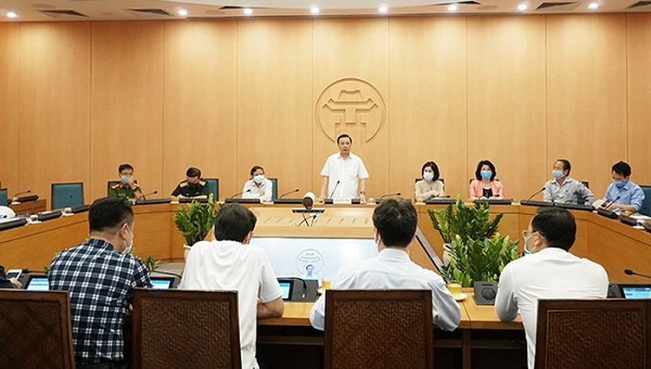 Phát hiện 2 F1 của chùm ca bệnh ở Hà Nam, Hà Nội nâng cảnh báo nguy cơ bùng phát dịch mức cao nhất
