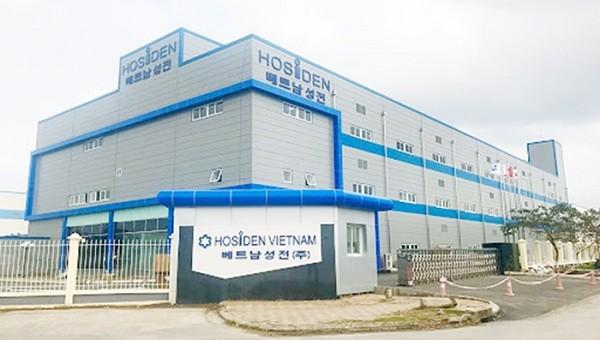 Tạm dừng hoạt động Công ty TNHH Hosiden Bắc Giang có 35 ca mắc COVID-19