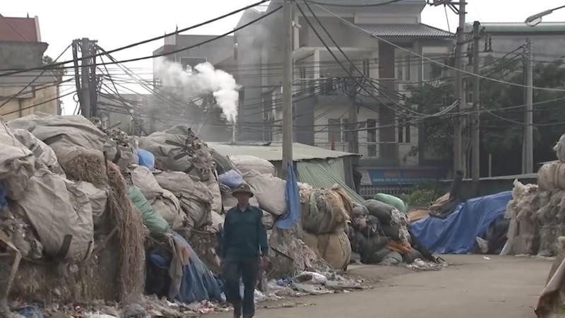 40/65 làng nghề ô nhiễm môi trường nước nghiêm trọng ở Hà Nội