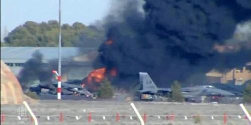 Chiến đấu cơ NATO rơi khi đang diễn tập