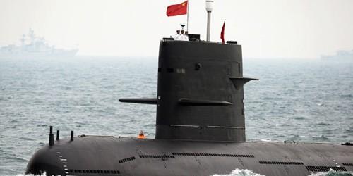 Tàu ngầm hạt nhân tấn công lớp Tấn của Trung Quốc.