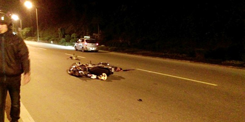 Xe khách bỏ chạy sau tai nạn làm chết một quân nhân