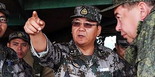 Ông Trương Yên là vị chỉ huy trẻ nhất ở cấp quân đoàn trong quân đội Trung Quốc. Ảnh: SCMP.