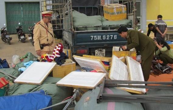 Quảng Bình: Bắt giữ hơn 1.000 loại hàng ngoại nhập lậu