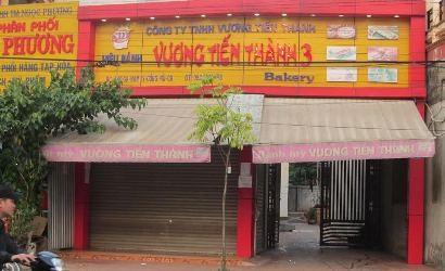 Một trong những cửa hàng của Vương Tiến Thành đã cùng nhiều cửa hàng khác đồng loạt đóng cửa vào hôm qua (15/10).