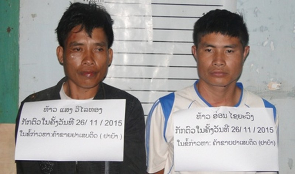 Biên phòng Việt Nam phá án ma túy trên đất bạn Lào