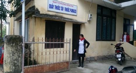 Bé gái sơ sinh bị bỏ rơi ở trạm y tế phường trong đêm rét