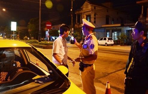 Tài xế taxi Tiên Sa Quảng Bình dương tính với chất ma túy
