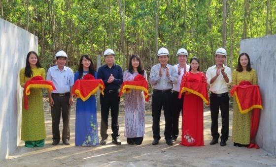 Huda đảm bảo nguồn nước sạch cho 5.000 người dân dưới chân dãy Hoành Sơn