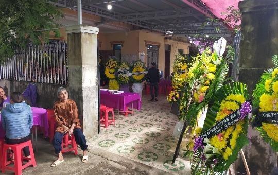 Tang lễ ông Phan Thanh Miên được tổ chức theo phong tục địa phương.