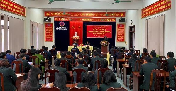 Hội nghị triển khai công tác THADS, HC năm 2021 của Cục THADS tỉnh Quảng Bình.