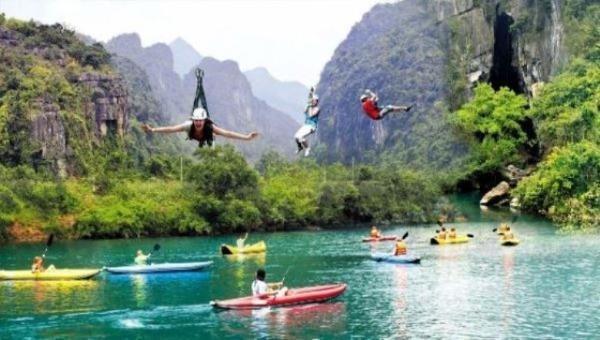 """Phong Nha – Kẻ Bàng là """"Trái tim du lịch"""" của Quảng Bình."""