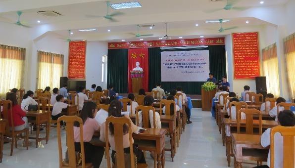 """Lễ phát động cuộc thi trực tuyến """"Tìm hiểu pháp luật về bầu cử đại biểu Quốc hội và đại biểu Hội đồng nhân dân các cấp"""" trên địa bàn tỉnh Quảng Bình năm 2021."""