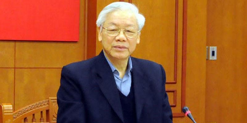 Tổng Bí thư Nguyễn Phú Trọng – Trưởng Ban Chỉ đạo Trung ương về phòng, chống tham nhũng (PCTN) chủ trì phiên họp