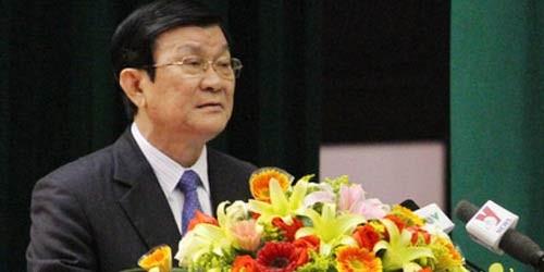 Chủ tịch Nước Trương Tấn Sang yêu cầu ngành TA cần tập trung xây dựng, nâng cao chất lượng đội ngũ