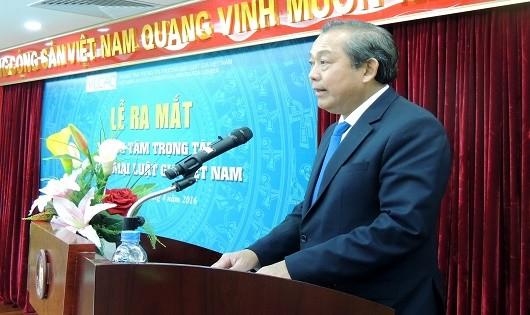 Phó Thủ tướng Trương Hòa Bình chức mừng sự kiện ra mắt VLCAC