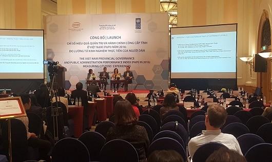 Công bố Chỉ số Hiệu quả Quản trị và Hành chính công cấp tỉnh ở Việt Nam (PAPI)