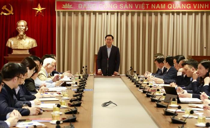 """Bí thư Hà Nội yêu cầu """"làm tốt công tác chuẩn bị nhân sự đại hội đảng các cấp"""""""