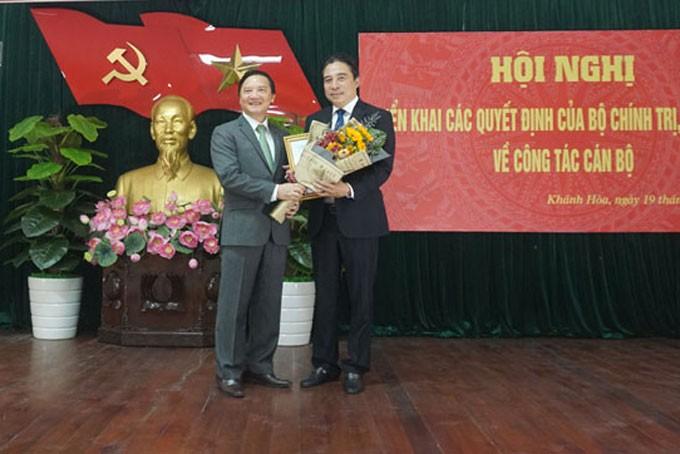 Chuẩn y Phó Bí thư Thường trực Tỉnh ủy Khánh Hòa