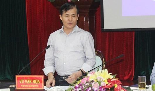 Ông Vũ Văn Họa, Phó Tổng Kiểm toán Nhà nước được bổ nhiệm lại tiếp tục giữ chức vụ Phó Tổng Kiểm toán Nhà nước.