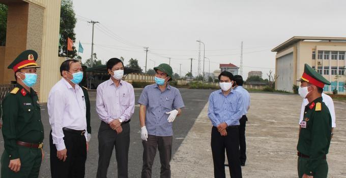 Quảng Trị chuẩn bị thêm địa điểm cách ly tập trung cho 10 nghìn người