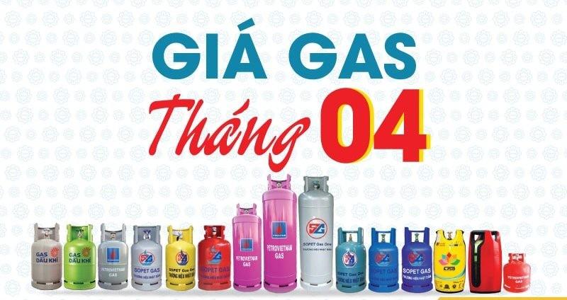 Giá gas tháng 4 giảm kỷ lục