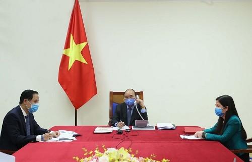 Việt Nam - Hàn Quốc trao đổi kinh nghiệm, phối hợp chống COVID-19