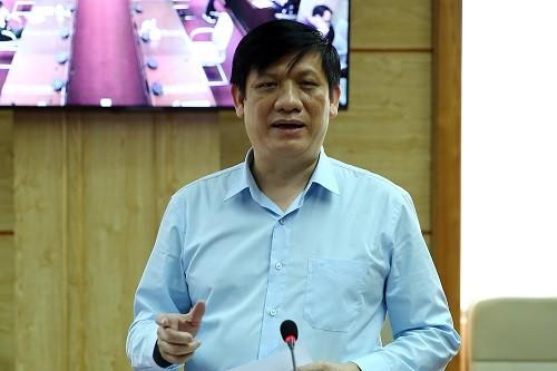 Thứ trưởng Bộ Y tế Nguyễn Thanh Long - Ảnh: VGP/Đình Nam