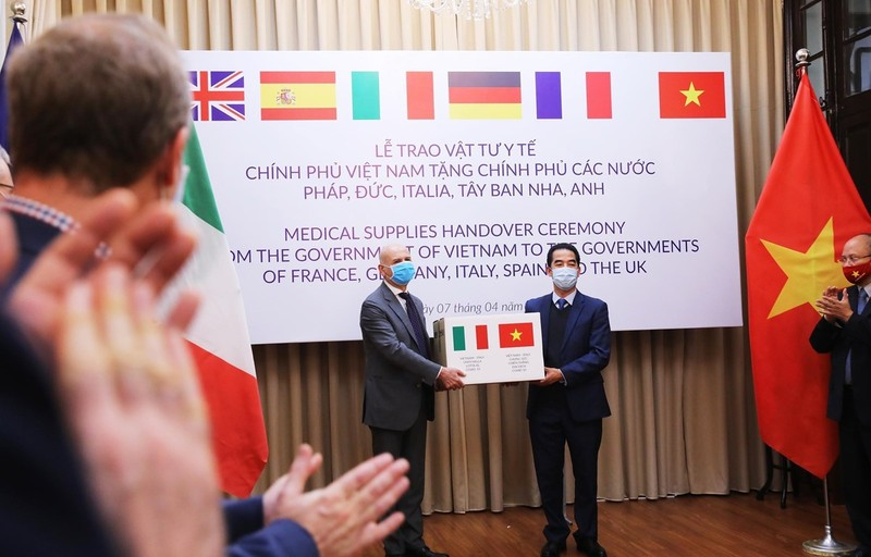 Italy cảm ơn Việt Nam hỗ trợ ứng phó với đại dịch COVID-19