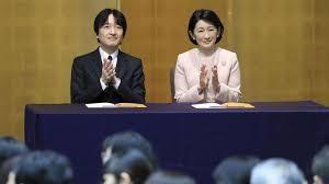 Vợ chồng Thái tử Nhật bản Fumihito. Ảnh: KyodoNews