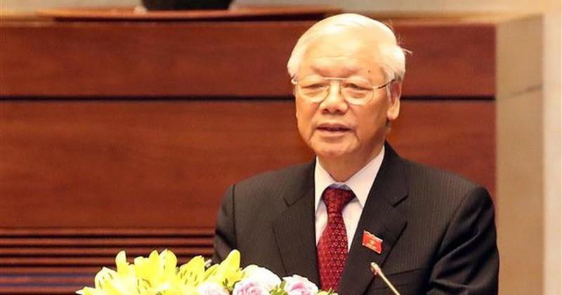 """Tổng Bí thư, Chủ tịch Nước Nguyễn Phú Trọng: """"Nhà báo luôn đồng hành cùng dân tộc"""""""