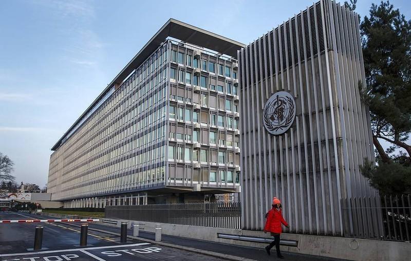 Trụ sở của Tổ chức Y tế Thế giới tại Geneva (Thụy Sỹ). Ảnh: TASS