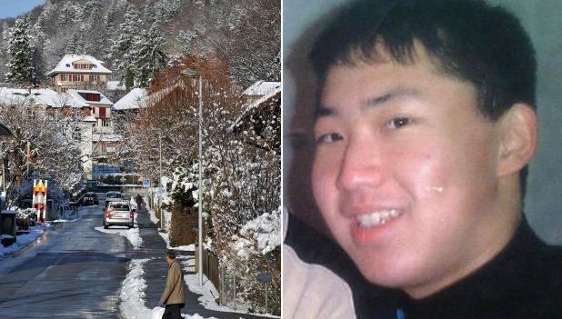 Bức ảnh được cho là của ông Kim Jong-un khi ông đi học ở Bern, Thụy Sĩ. Ảnh: Yonhap/AFP