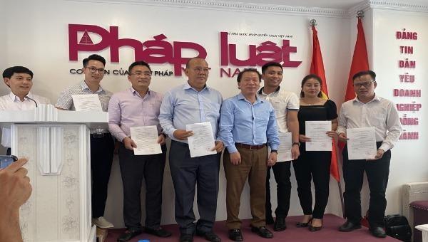 Báo Pháp luật Việt Nam kiện toàn công tác nhân sự địa phương