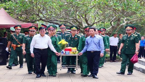 Trên 1.800 liệt sĩ đang yên nghỉ tại Nghĩa trang Liệt sĩ quốc gia Vị Xuyên