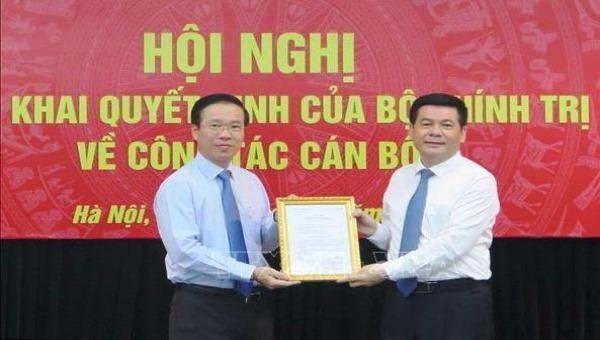 Triển khai quyết định của Bộ Chính trị về công tác cán bộ của Ban Tuyên giáo Trung ương