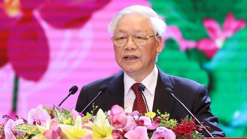 """Tổng Bí thư, Chủ tịch nước Nguyễn Phú Trọng: Cần thấm nhuần lời dạy của Bác về """"sức mạnh nhân dân"""""""