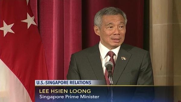 Thủ tướng Singapore Lý Hiển Long. Ảnh: C-Span