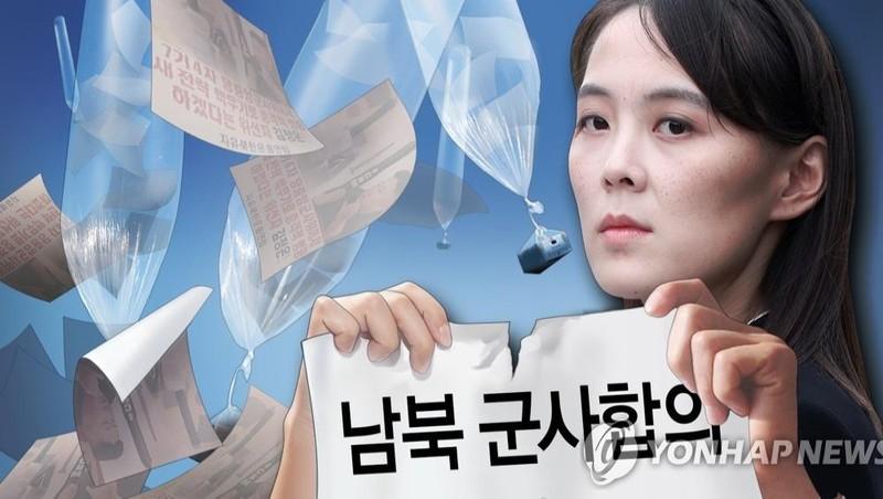 """Bà Kim Yo-jong tuyên bố """"Triều Tiên sẽ thực hiện bước tiếp theo chống lại Hàn Quốc"""". Ảnh: Yonhap"""