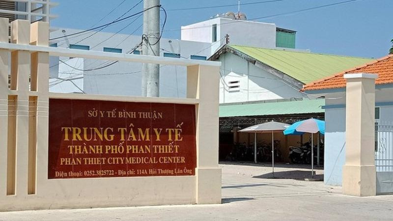 Hai lãnh đạo Trung tâm Y tế TP Phan Thiết bị cách chức vì liên quan vụ án tham ô tài sản