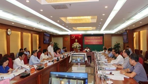 Kỳ họp thứ 46 của  Ủy ban Kiểm tra Trung ương.
