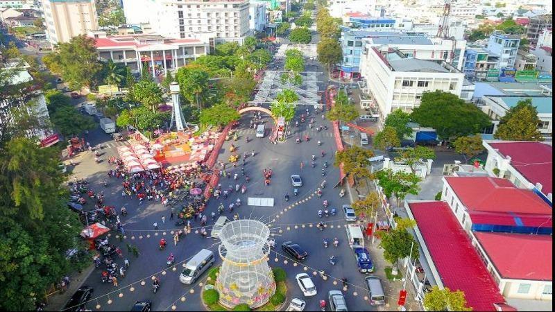 Đại lộ Hòa Bình thành phố Cần Thơ. Ảnh: canthotourism